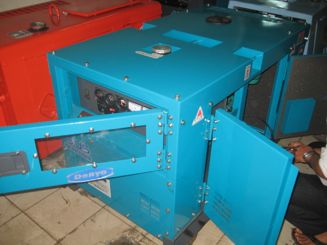 Máy phát điện cũ MS002